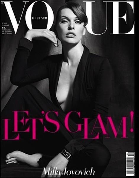 Коллекция Gucci SS 2011 появилась на 50 обложках журналов. Изображение № 2.