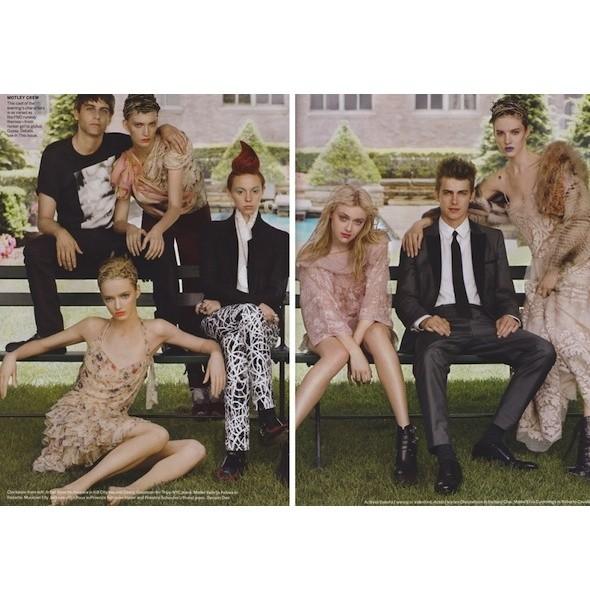 5 новых съемок: Purple Fashion, Vogue и W. Изображение № 22.