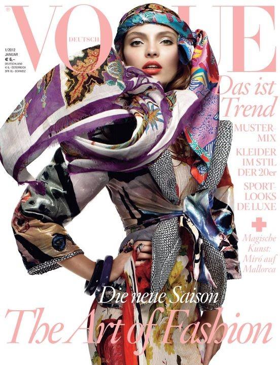 Обложки Vogue: Германия и Китай. Изображение № 2.