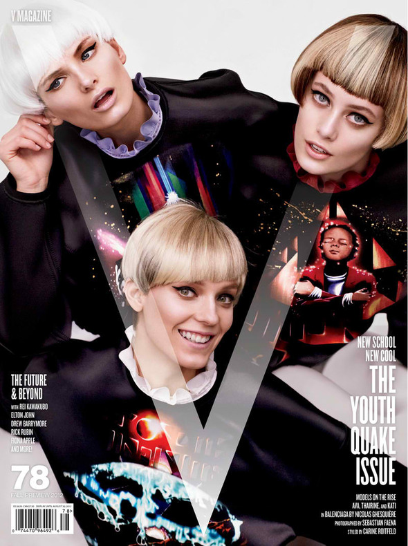 Новые съемки: Vogue, V, Elle и другие. Изображение № 24.