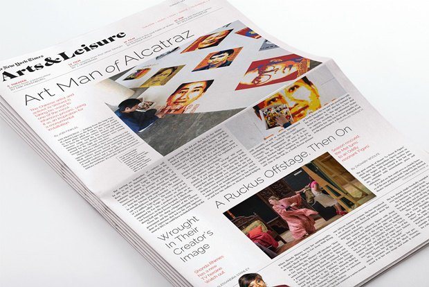 Студент переделал печатную версию TheNew York Times. Изображение № 4.
