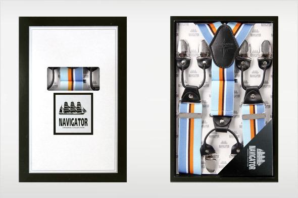 Коллекция подтяжек «Навигатор» от Sevaro Elit . Изображение № 4.