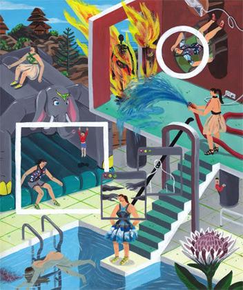 Босх 2.0: Иллюстрации-комиксы Брехта Ванденбрука. Изображение № 1.