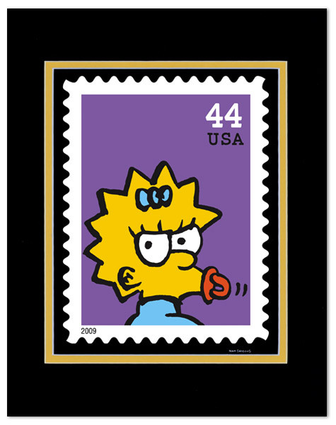 USPostal Service xMatt Groening. Изображение № 5.
