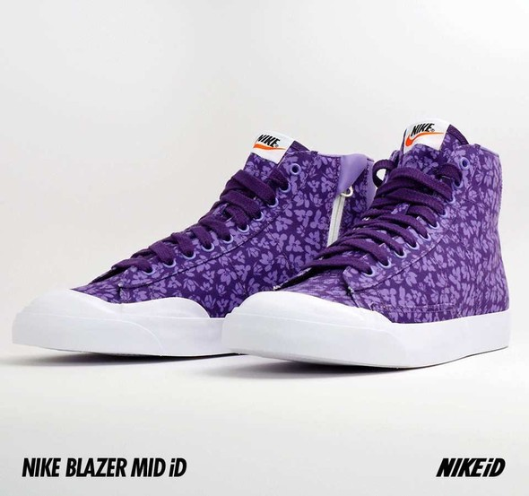 Nike X Liberty Summer Collection/  Blazer Mid iD.. Изображение № 24.