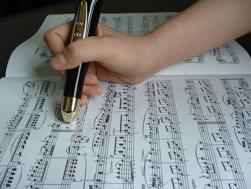 Как по нотам: обучающая ручка. Изображение № 1.
