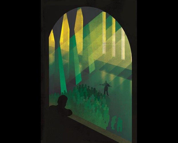 Выбраны иллюстрации для нового издания «О дивный новый мир». Изображение № 6.