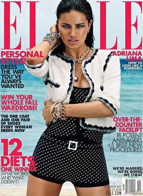 Четыре обложки американского Elle. Изображение № 1.