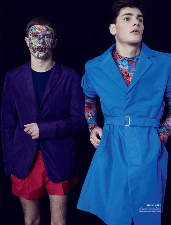 Изображение 18. Мужские весенне-летние коллекции в английском Attitude Magazine.. Изображение № 18.