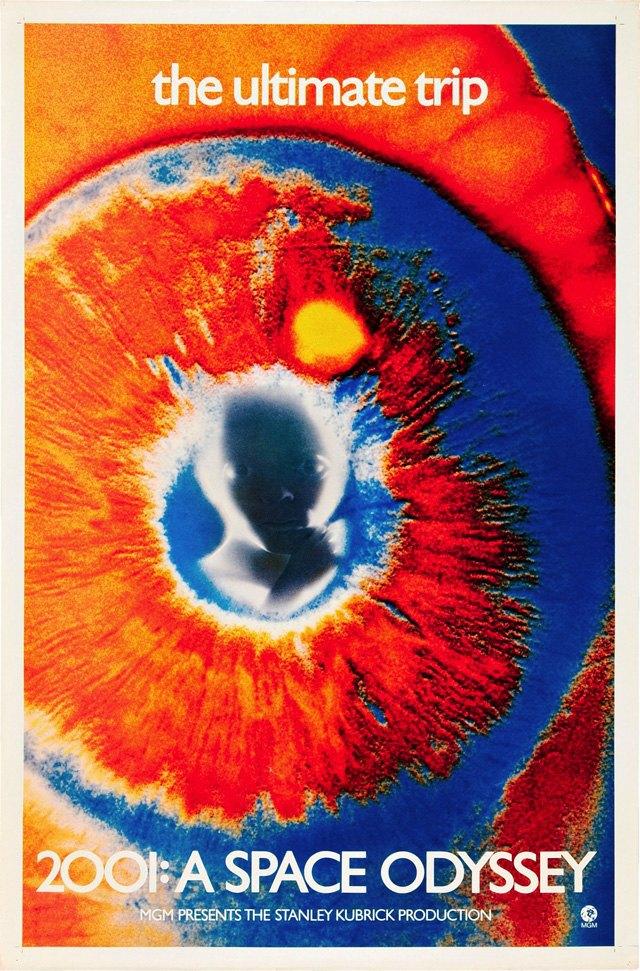 Постер к фильму «2001 год: Космическая одиссея». Изображение № 4.