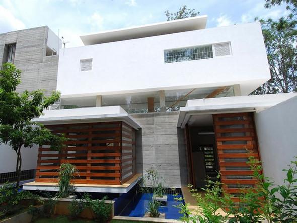 Красивые дома: Дом Павильоны в Бангалоре. Изображение № 4.