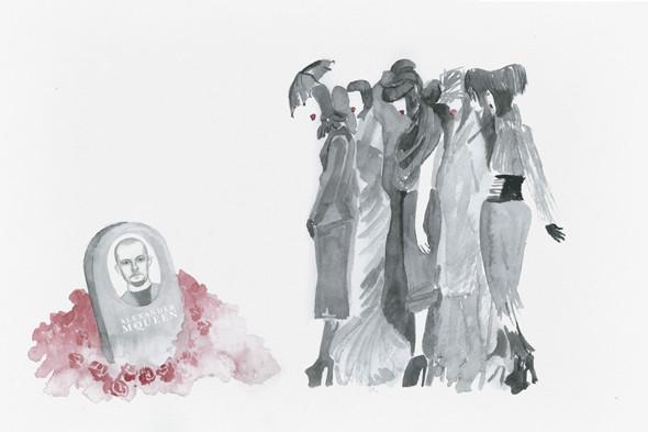 Фэшн-иллюстрация: Дуня Захарова. Изображение № 8.