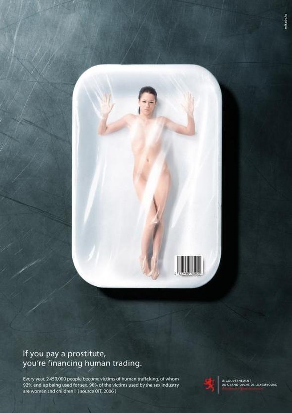 Изображение 13. Реклама против проституции.. Изображение № 23.
