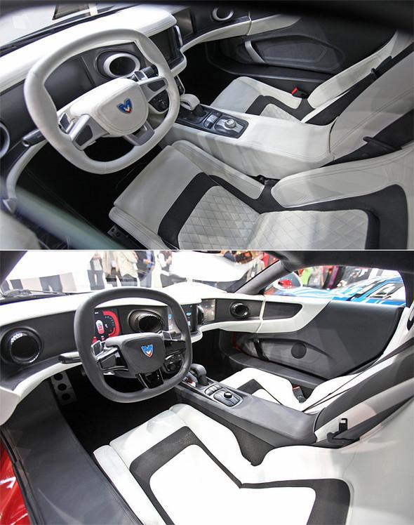 Новая версия суперкара Marussia воФранкфурте. Изображение № 2.