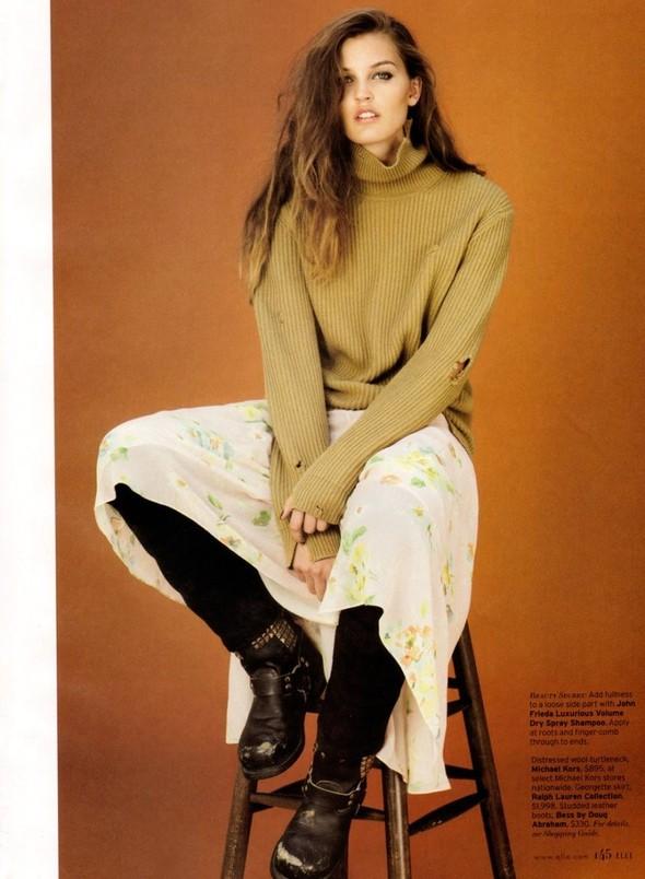 Съёмка: Али Стивенс для Elle. Изображение № 4.