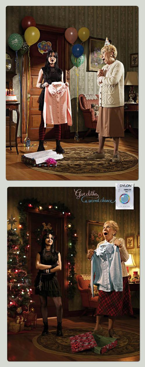 Новогоднее - Рождественский креатив в рекламе. Изображение № 50.