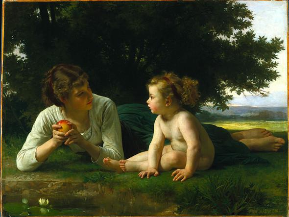 Французский живописец Адольф Вильям Бугро. Изображение № 12.