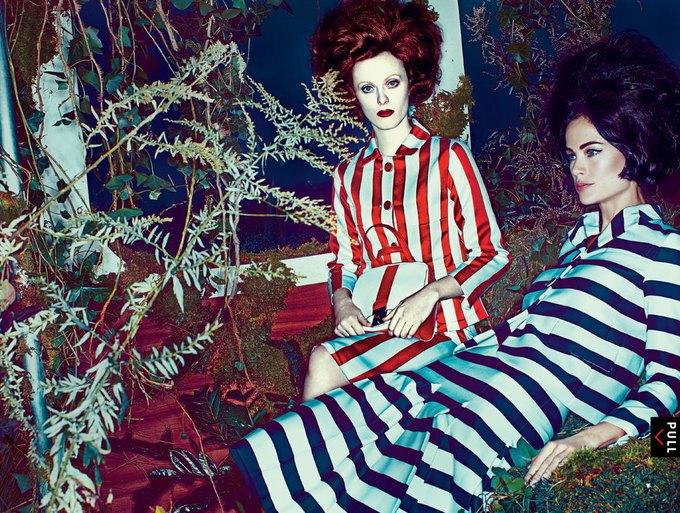 Vogue, AnOther и другие журналы опубликовали новые съемки. Изображение № 47.