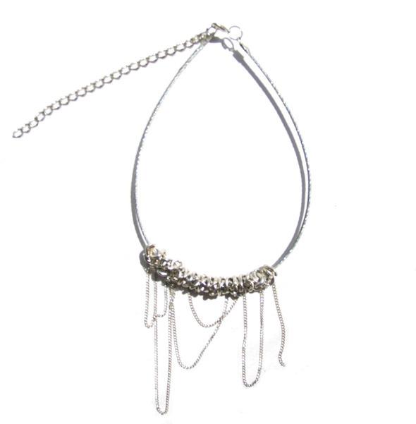 Ожерелья из цепей гаек и сантехнического шнура. Часть1. Изображение № 19.