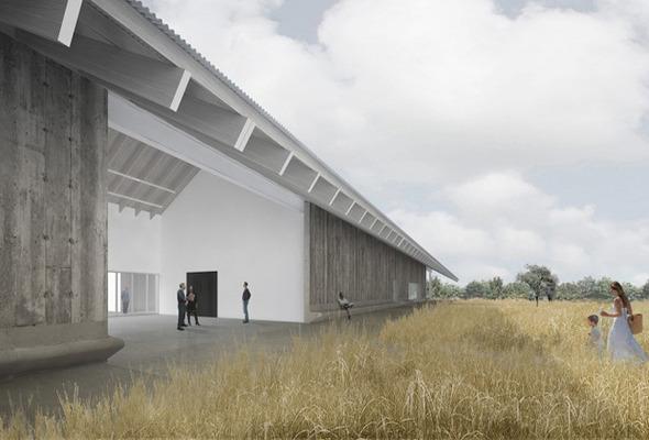 Музей американского искусства Parrish Art Museum откроется 10 ноября. Изображение № 1.