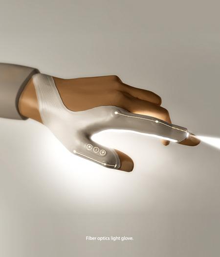Перчатка натехнологии LED. Изображение № 1.