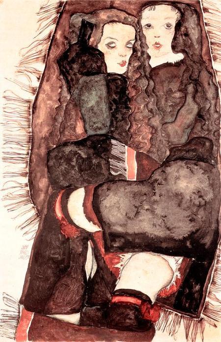 Эгон Шиле. Эротика вискусстве живописи ирисунка. Изображение № 14.