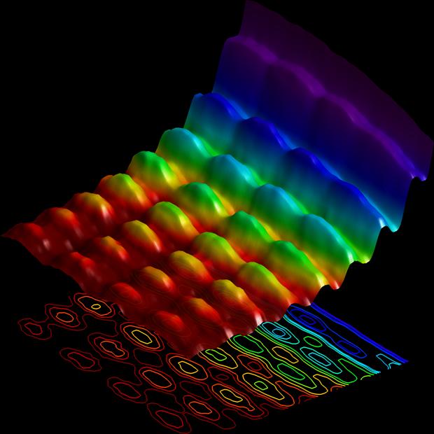 Получен первый снимок волновой и квантовой природы света. Изображение № 1.
