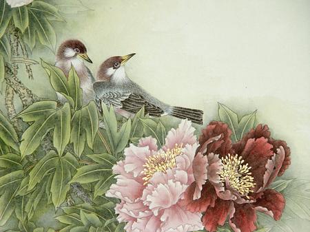 Птицы ицветы. Изображение № 8.