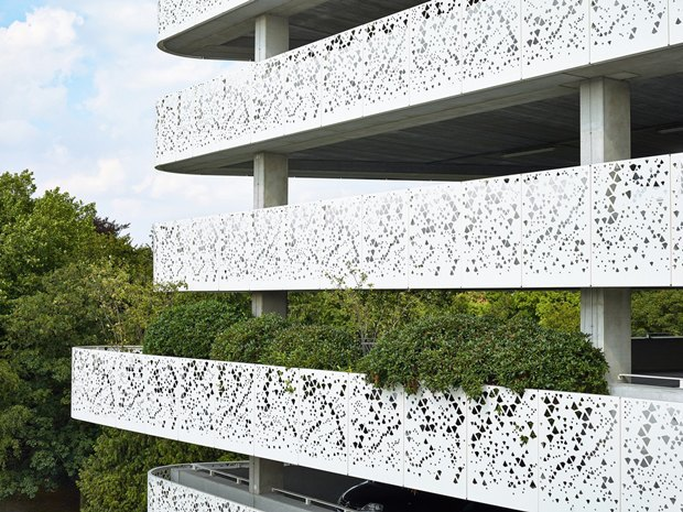 Архитектура дня: парковка сперфорацией вБельгии. Изображение № 2.