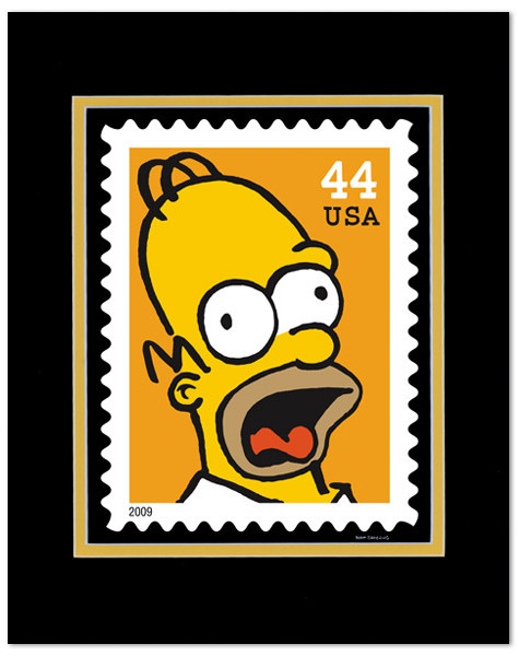 USPostal Service xMatt Groening. Изображение № 7.