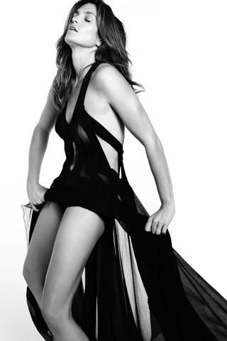 Cindy Crawford, Vogue Spain July 2009. Изображение № 10.