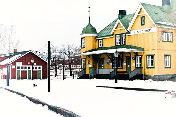 Железнодорожная станции Мариефред. Изображение № 69.