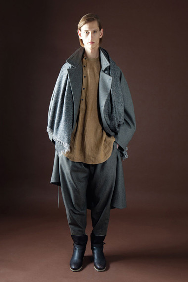 Лукбук: Christophe Lemaire 2012 Fall/Winter. Изображение № 15.