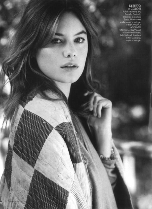 Съёмка: Камилла Рове для Elle. Изображение № 2.