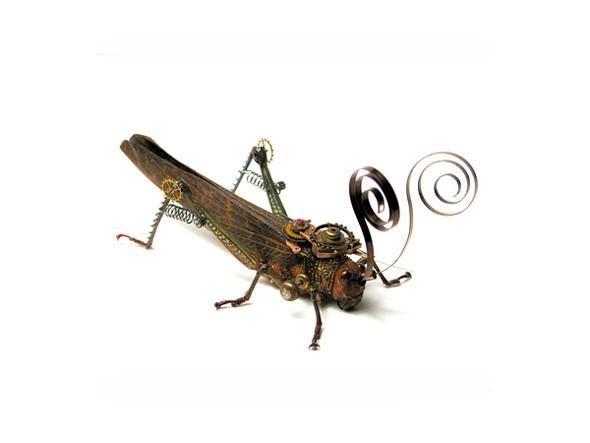 Стимпанк насекомые от Mike Libby. Изображение № 12.
