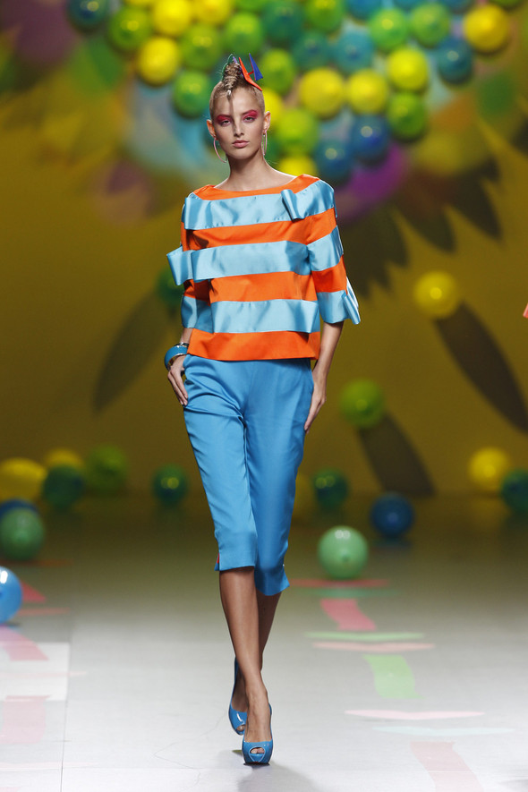 Madrid Fashion Week SS 2012: Agatha Ruiz de la Prada. Изображение № 25.