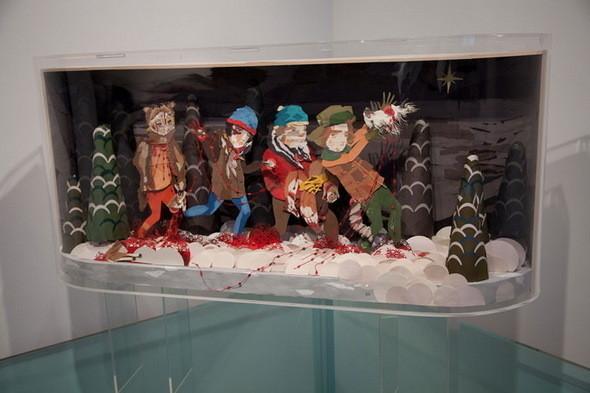 Выставка Рона Инглиша в честь South Park. Изображение № 3.