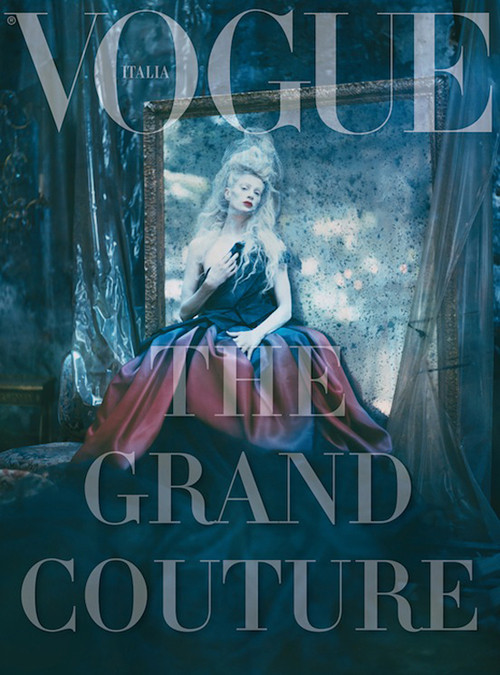 Архивная съёмка: Кристен МакМенами для Vogue Italia, сентябрь 2010. Изображение № 2.