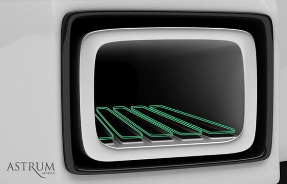 Astrum Meera - проект очень красивого автомобиля со многочисленными нововведениями. Изображение № 8.
