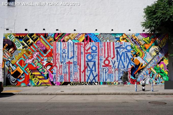Историю граффити на одной стене восстановили с помощью Google Street View . Изображение № 4.