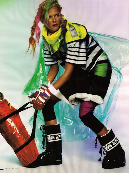 United Colors ofTestino. Vogue UK(November 2009). Изображение № 5.