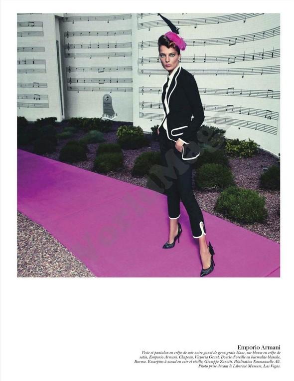 Съёмка: Дарья Вербова для французского Vogue. Изображение № 57.