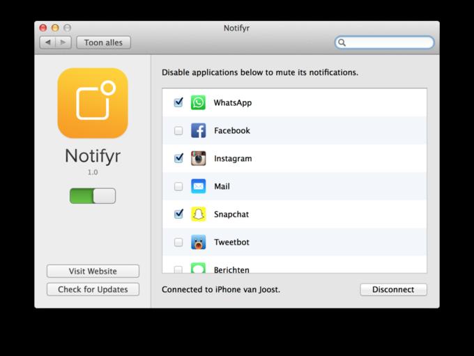 17-летний разработчик выпустил центр уведомлений для iPhone и Mac . Изображение № 2.