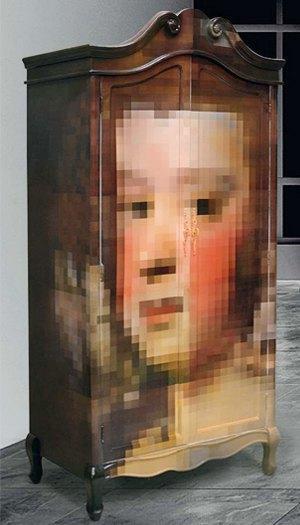 Глитч-мебель: красивые компьютерные ошибки в интерьере. Изображение № 22.