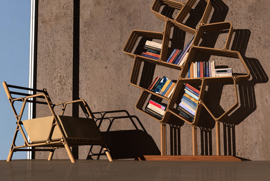 Новое решение в дизайне — бамбуковая мебельная система. Изображение № 1.