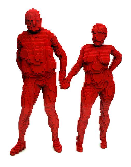Изображение 13. Lego art: Люди, продолжающие играть.. Изображение № 13.