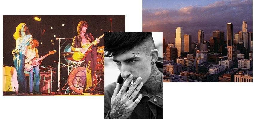 Рокеры, Лос-Анджелес, Гранж. Изображение № 32.