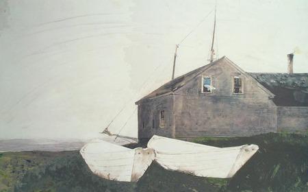 Andrew Wyeth- живопись длясозерцания иразмышления. Изображение № 14.