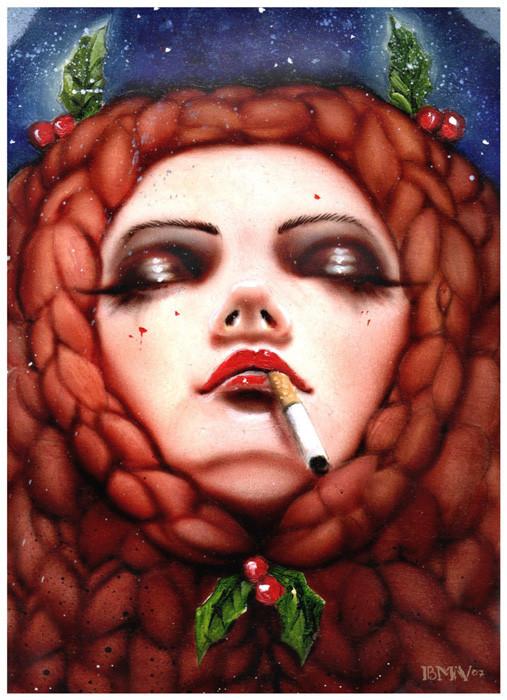 Brian M. Viveros - Американский художник. Изображение № 10.