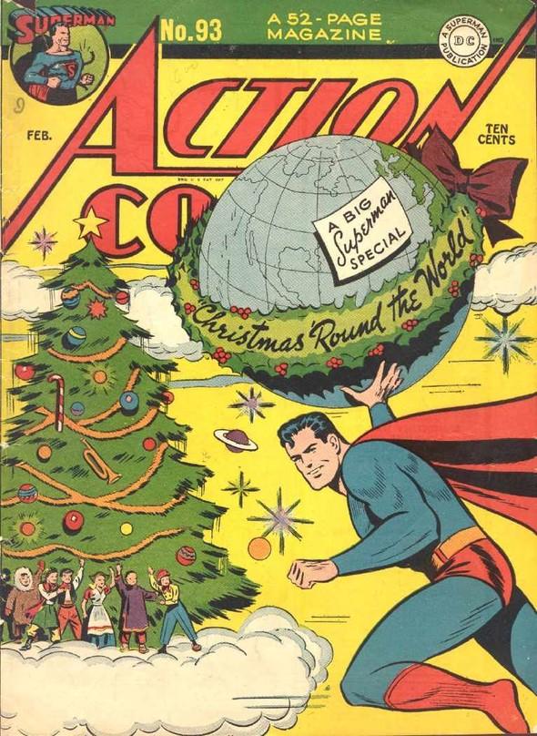 20 новогодних обложек комиксов. Изображение № 7.